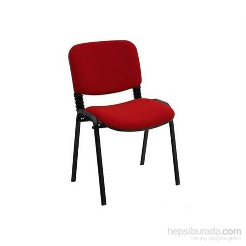 Ofisbazaar Form Sandalye İkili Bordo