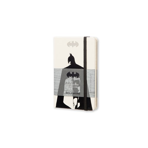 Moleskine Batman Sert Kpk Defter Beyaz Çizg.Cep Boy Leba01Mm710