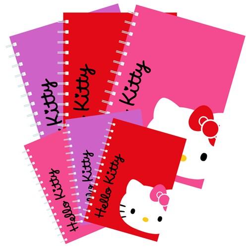 Umur Hello Kitty Spiralli Okul Defteri A5 96 Yp. Çizgili