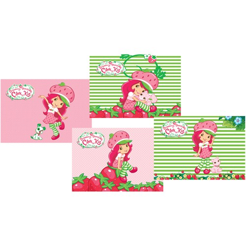 Umur Strawberry Shortcake Spiralli Resim Blok 120 Gr. 35*50