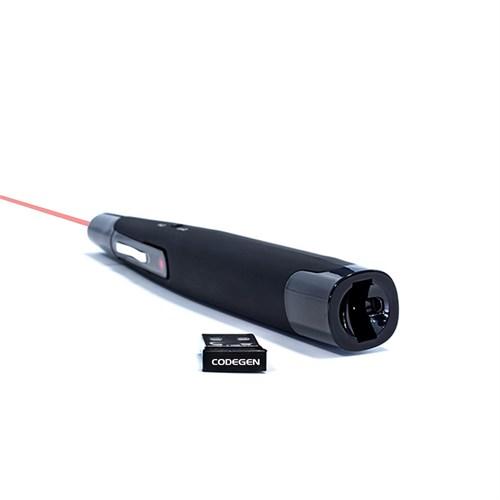 Codegen CPCR-503 Laser Pointer Özellikli Sunum Kumandası (Siyah)