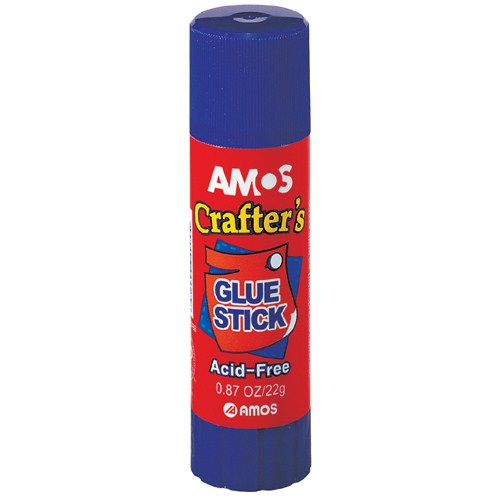 Amos Sihirli Mavi Stick Yapıştırıcı 22Gr 20'Li Gsb22N