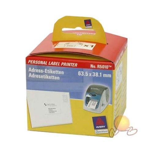 Avery R 5010 Plp Adres Etileti 63 X38.1 mm (r 5000 Etiket Yazıcısı İçin)