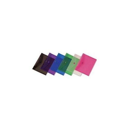 Comix A1854 (A5) 12'li Çıtçıtlı Şeffaf Dosya BYBIC190