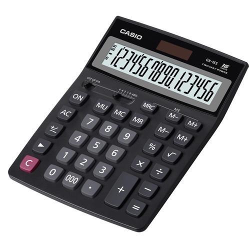 Casio GX-16S Büyük Boy 16 Hane Masaüstü Hesap Makinesi