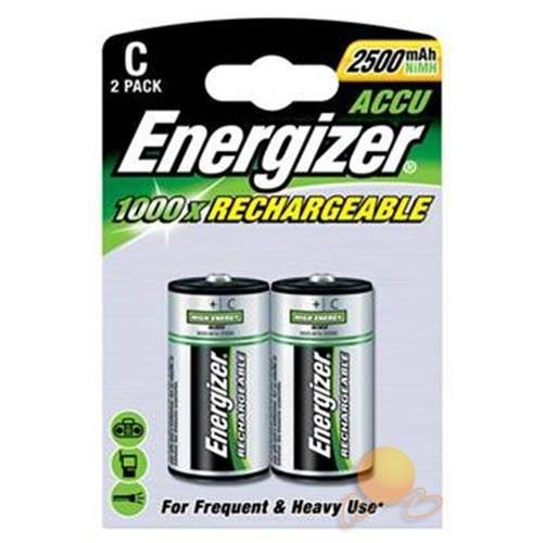 Energizer (E11-8740) Şarjlı 2500 Mah C Tipi Pil 2Li Blister