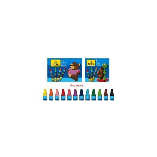 Adel Yuvarlak Pastel Boya 12 Renk (2280831000)