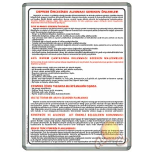 İnter 50x70 Deprem Öncesi Alüminyum Çerçeveli INT-711-10