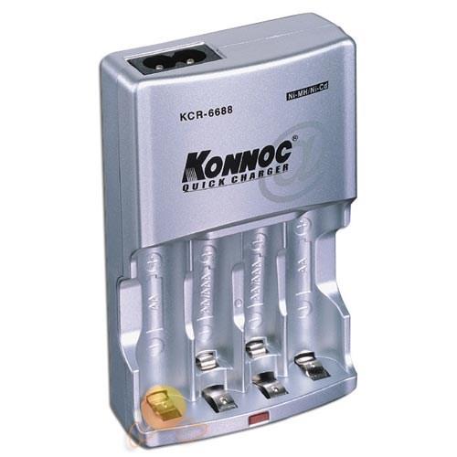 Konnoc KCR-6688 Pil Şarj Cihazı