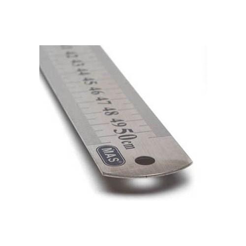 Mas 2350 Çelik Cetvel 50cm