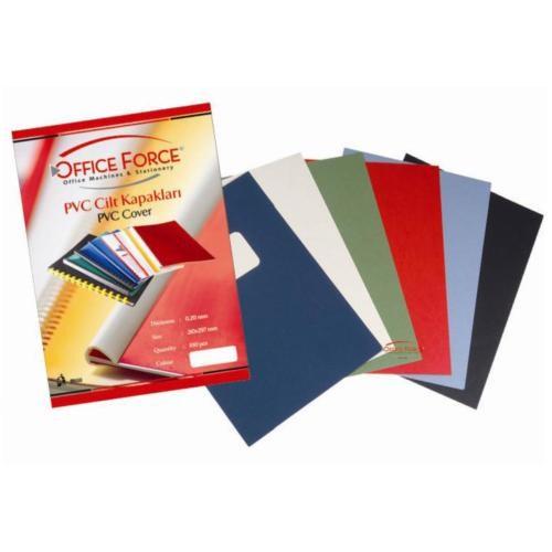 Office Force A3 Cilt Kapakları Beyaz PVC