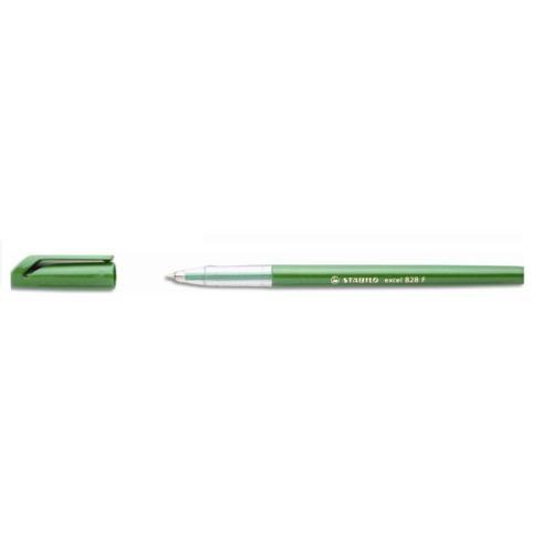 Stabilo Excel 828F 0,3 mm Tükenmez Kalem Kırmızı 10'lu Kutu