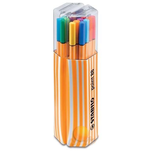 Stabilo Point 88 20 Renk Askılı Paket
