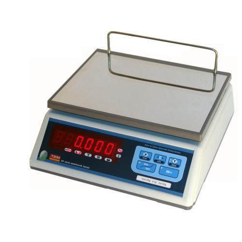 Tem TNT006D – Tartım Terazisi - Nt 6 Kg.