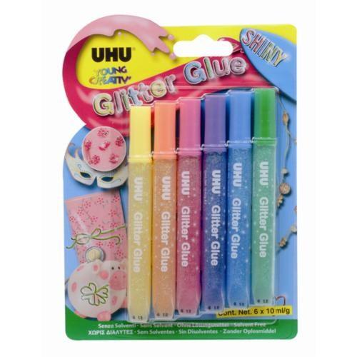 Uhu Yc Glitter Glue 10 Gr. Simli Yapıştırıcı (UHU39110)