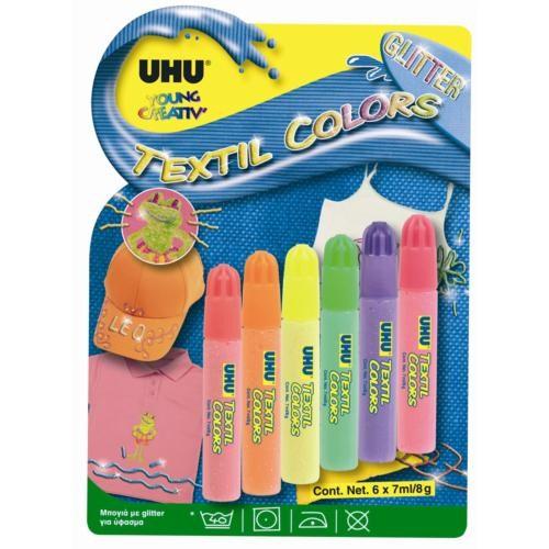 Uhu Yc Textil' Colors 25 ml. Kumaş Süsleme Boyası (UHU38990)