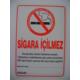 Sigara İçilmez Poster 35*50Cm