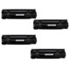 Calligraph Canon i sensys MF4730 Toner 4 lü Ekonomik Paket Muadil Yazıcı Kartuş