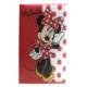 Minnie Mouse Sert Kapaklı Kareli A4 Defter - 60 Yaprak