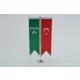 Bayrakal Osmanlı Bayrağı ve Türk Bayrağı Kırlangıç Masa Bayrak Takımı