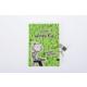 Saftirik Hatıra Defteri (Kilitli) Yeşil-Turuncu