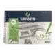 Canson 1557 Resim Ve Çizim Blok 120Gr A5 40Yp Yandan Spiralli C120a540ys