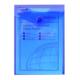 Snopake Polyfile P A6 Dikey Çıtçıtlı Dosya(150X115mm)Karışık Renkler Sp13287