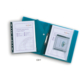 Snopake Polyfile Klasörlenebilir Çıtçıtlı Cd Gözlü A4 Dosya(Şeffaf) Sp13361