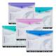 Snopake Polyfile Rıngbınder Wallet Hc Electra Klasörlenebilir Çıt Çıtlı Yatay Dosya(Karışık Renk) Sp15694
