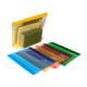 Snopake Zippa Bag Hc A4 Plus (370*260Mm)Karışık Renkler Sp15299