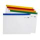 Snopake Zippa Bag 'S' A4 Plus Plus Fermuarlı Dosya(405X260mm)Karışık Renkler Sp12821
