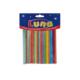 Luna Ahşap Renkli Yuvarlak Çubuklar 4X100mm 100Lü Lna0601652