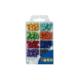 Luna Boncuk Parlak Karışık Renkli Set 24G Lna0620315
