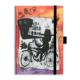 Le Color Motley Kuşe Kapaklı Bisiklet Desenli 2017 Ajanda