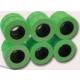 Tanex 12x21 mm Çizgili Flo Yeşil Fiyat Etiket 800 Adet