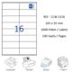 Crea Label Clw-2216 105 X 35 Mm Lazer Etiket