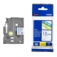 Brother P-Touch Tz-Tape 12Mm Beyaz-Mavi Etiket 12Tze233