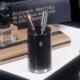 El-Casco kalemlik Küçük Parlak Krom Ve Siyah