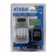 Ataba At-998 Göstergeli/Ekranlı Hızlı Şarj Cihazı