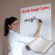 Bebe Diyarı Akıllı Kağıt Tahta 110x100cm Her Yer Yazı Tahtası