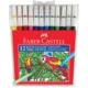 Faber-Castell Keçeli Kalem 12'li Poşet