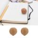 Kikkerland Walnut Erasers - Ceviz Silgiler - 2Li Set