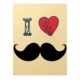 Morning Glory 1815 A4 Mustache Plastik Kapak Kareli Defter Desen - 2