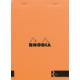 Rhodia Basics 148 x 210 Mm Zımbalı Turuncu Çizgisiz Defter Rs 162007
