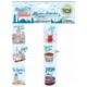 Crea Tiket 1012 Marka Ve Şehirler Serisi Okul Etiketi