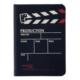 Notelook Production Yatay A7 100 Yaprak Çizgili Siyah Defer