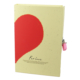 Vintage Label 1700 For Love Kilitli Kutulu Hatıra Defteri Desen - 2