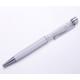 Monemel Swarovski® Taşlı Beyaz Tükenmez Kalem P0101