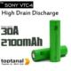 Sony Sony Vtc4 2100Mah 18650 Battery 30Amp