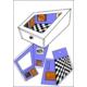 HDG Ames Odası Ames Room Malzemeleri - Ames Odası Yapılışı Set - Kendi Ames Odası Deneyini Kendin Yap